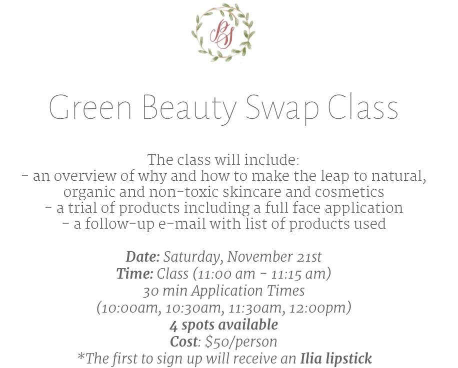 Green Beauty Swap